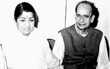 Lata and Pt Narendra Sharma