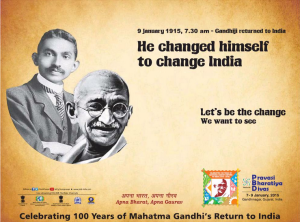 Pravasi-Bharatiya-Divas-Celebrating-100-years-of-Mahatma-Gandhi-Return-to-India-7-9-January-2015