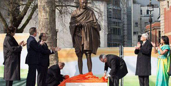 Gandhi in Parliament Square