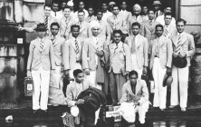 Dhyan Chand, Indian Hockey Team 1936 Berlin Olympics
